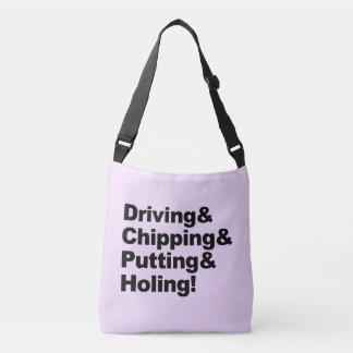 Bolsa Ajustável Driving&Chipping&Putting&Holing (preto)