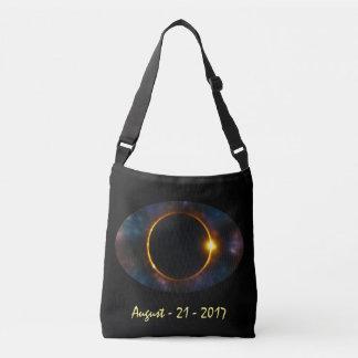 Bolsa Ajustável Eclipse solar total do olho 2017 cósmicos legal