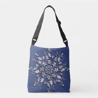 Bolsa Ajustável elemento floral do vintage