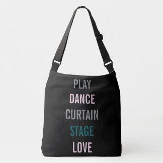 Bolsa Ajustável Em Broadway eu amo a sacola do partido do ator do