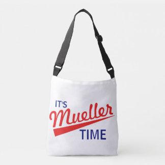 """Bolsa Ajustável Engraçado """"é tempo de Mueller """""""