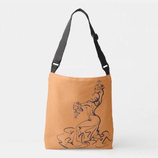 Bolsa Ajustável Esboços do dançarino do Flamenco
