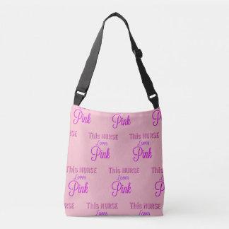 Bolsa Ajustável Esta enfermeira ama a sacola de Pink=