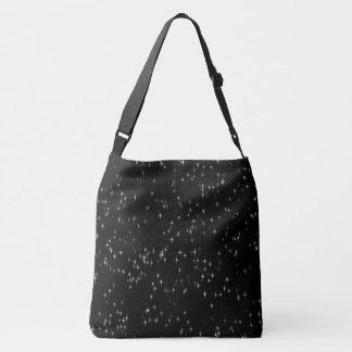 Bolsa Ajustável Estrelas pastel coloridos/fundo preto