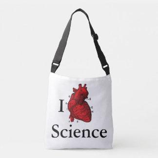 Bolsa Ajustável Eu amo a ciência