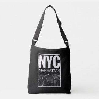 Bolsa Ajustável Eu amo a skyline de NYC New York Manhattan