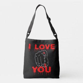 Bolsa Ajustável Eu te amo preto