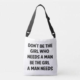Bolsa Ajustável Feminismo, poder da menina, sucesso, sonhos,