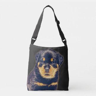 Bolsa Ajustável Filhote de cachorro de Rottweiler customizável