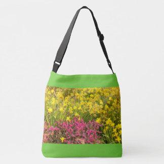 Bolsa Ajustável fim-acima do colorido florescência no saco para o