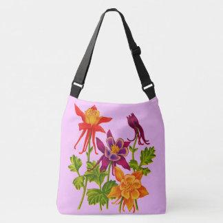Bolsa Ajustável flores aquilégias