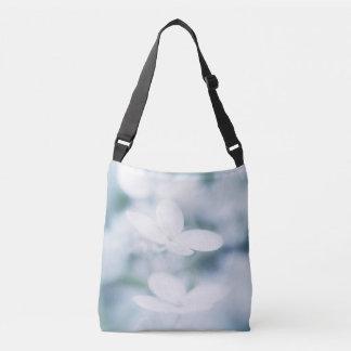 Bolsa Ajustável Flores brancas bonitas