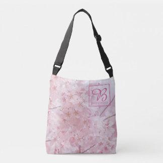 Bolsa Ajustável Flores de cerejeira rosas pálido da dama de honra