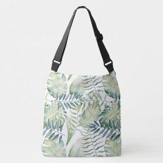Bolsa Ajustável Folhas de palmeira tropicais verdes
