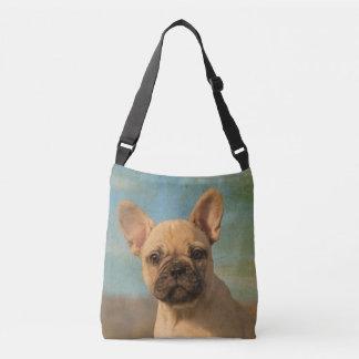 Bolsa Ajustável Foto bonito do retrato do cão de filhote de