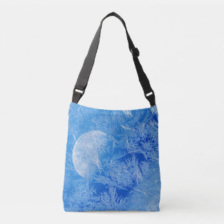 Bolsa Ajustável Fotografia criativa da lua azul do inverno