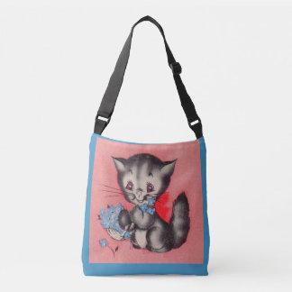 Bolsa Ajustável gato doce do gatinho
