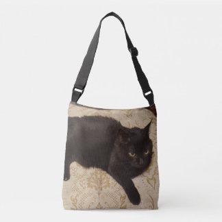 Bolsa Ajustável Gato preto Roxie