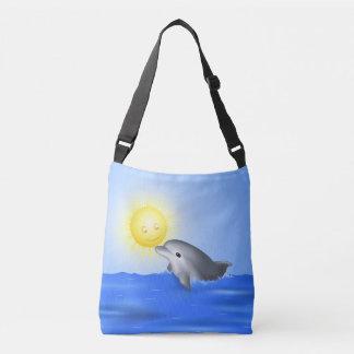 Bolsa Ajustável Golfinho do bebê