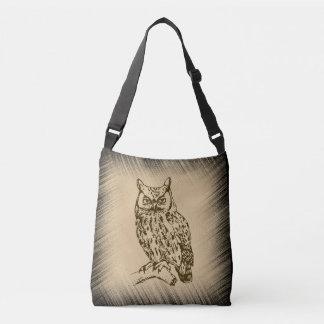Bolsa Ajustável Grande coruja Horned