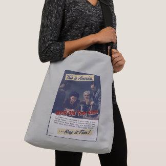 Bolsa Ajustável Grande sacola do fã de MPIR