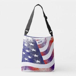 Bolsa Ajustável Guarnição Orgulho-Azul americana