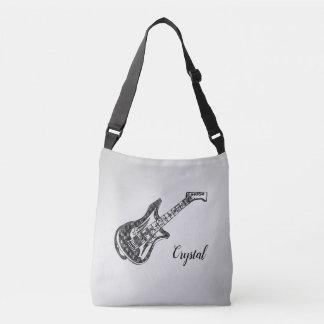 Bolsa Ajustável Guitarra elétrica na prata