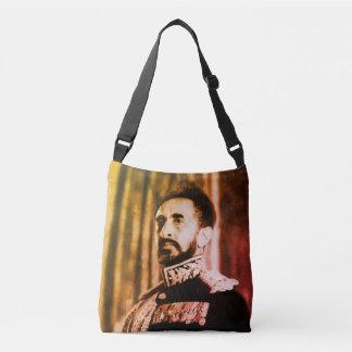 Bolsa Ajustável Haile Selassie - Jah Rastafari reggae Roots Bag -
