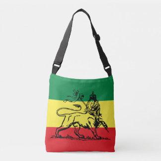 Bolsa Ajustável Haile Selassie - Lion of Judah reggae Roots Bag -