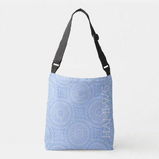 Bolsa Ajustável HAMbWG - sacola - azul Boho do verão