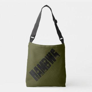Bolsa Ajustável HAMbWG - sacola - logotipo preto de HAMbWG
