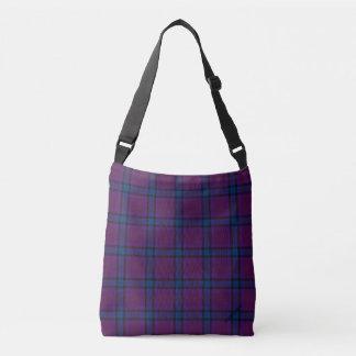 Bolsa Ajustável HAMbyWG - saco do Cruz-Corpo - xadrez da cereja