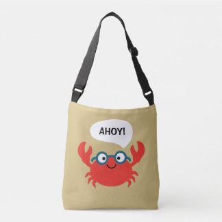 Bolsa Ajustável Ilustração bonito do caranguejo de Specky