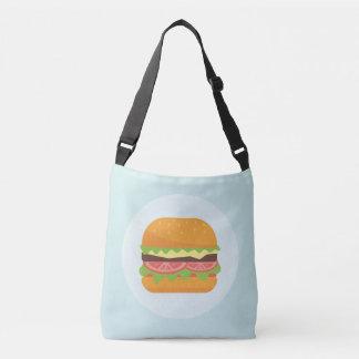 Bolsa Ajustável Ilustração do Hamburger com tomate e alface