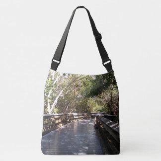 Bolsa Ajustável Imagem Nápoles do trajeto da caminhada da natureza