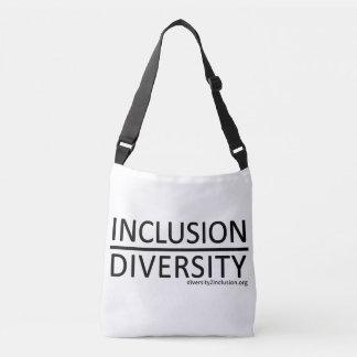 Bolsa Ajustável Inclusão sobre o saco da diversidade
