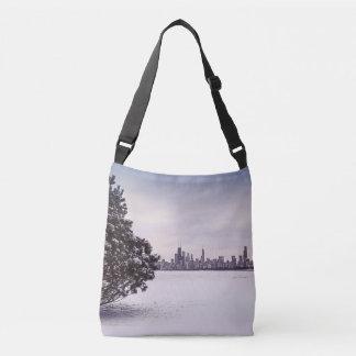 Bolsa Ajustável inverno bonito Chicago - saco do cruz-corpo