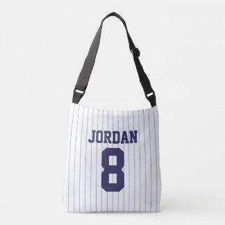 Bolsa Ajustável Jérsei de basebol com nome e número feitos sob