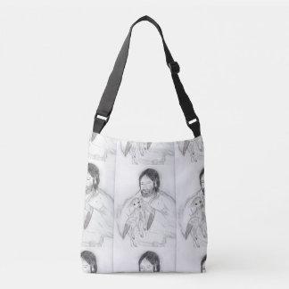 Bolsa Ajustável Jesus com cordeiro