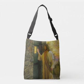 Bolsa Ajustável Jesus em seu vintage da porta