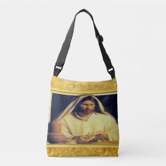 Bolsa Ajustável Jesus que quebra a textura do ouro de matthew