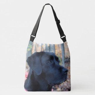 Bolsa Ajustável Labrador preto - fulgor do outono