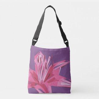 Bolsa Ajustável Lírio floral abstrato do verão