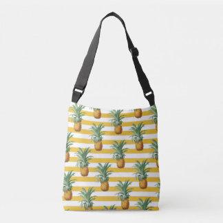 Bolsa Ajustável listras amarelas dos pinepples
