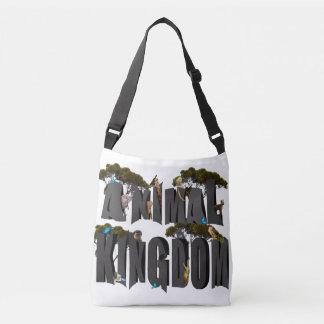 Bolsa Ajustável Logotipo do reino animal com animais,