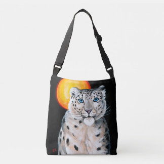 Bolsa Ajustável Lua do leopardo de neve
