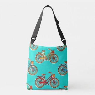 Bolsa Ajustável Luz - sacola azul do corpo da cruz da bicicleta