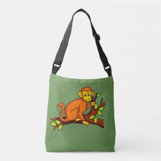 Bolsa Ajustável Macaco da ilustração do vetor