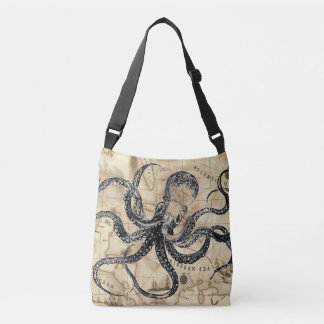 Bolsa Ajustável Mapa das caraíbas com Kraken