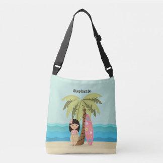 Bolsa Ajustável Menina havaiana do surfista